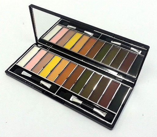 Paleta de maquiagem Day By Day - Cor B - Luisance Ref L758D