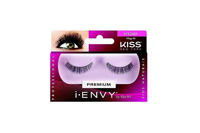 Cílios Postiços  Wispy 04 - KPE50BR  - KISS NEW YORK