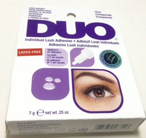 Cola para Cílios em Tufos - Duo  - Latex Free  240611