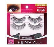 Cílios Postiços Au Naturale 10 Double Pack KPED10BR – KISS NY