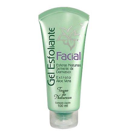 Gel Esfoliante Facial 100ml  - Toque de Natureza