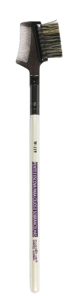 Pincel Individual Pente e Escova - W119  - Macrilan