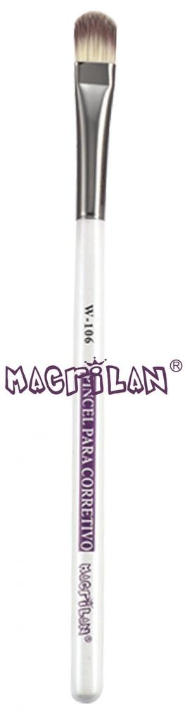 Pincel Profissional para Corretivo - W106 - Macrilan