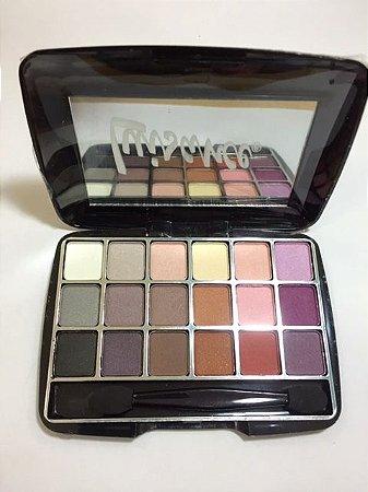 Paleta de Sombras Standard Luisance c/18 cores Modelo C ref L012