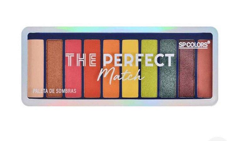 Paleta De Sombras Perfect Match 10 Cores - Sp Colors PROMOÇÃO