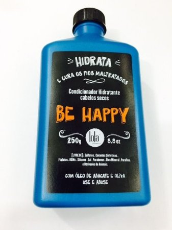 Condicionador Lola BE HAPPY Hidratante Cabelos Secos 250ml