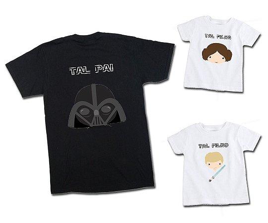 92272d2cea02 Tal Pai, Tal Filho e Filha Star Wars - Espaço QK