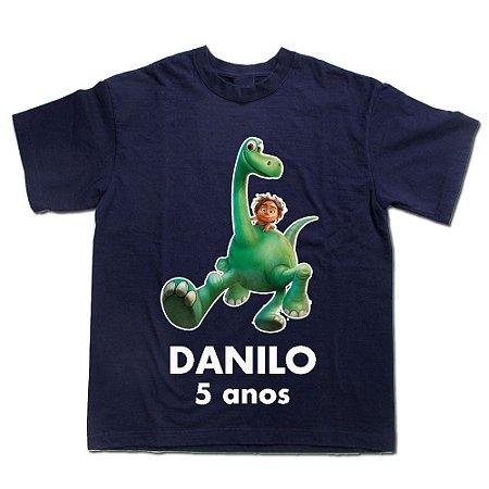 166404da22 Camiseta Infantil O Bom Dinossauro Personalizada - Espaço QK