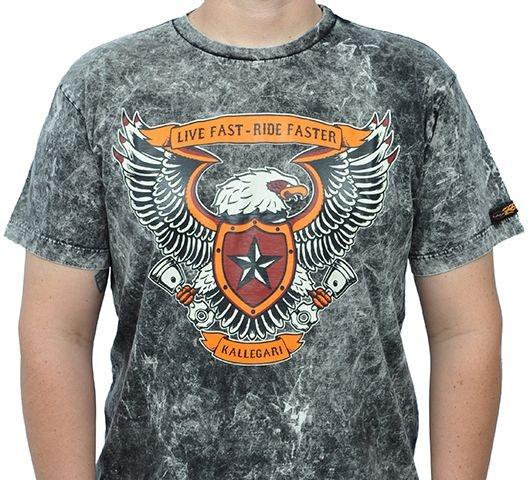 Camiseta Live Fast Ride Faster