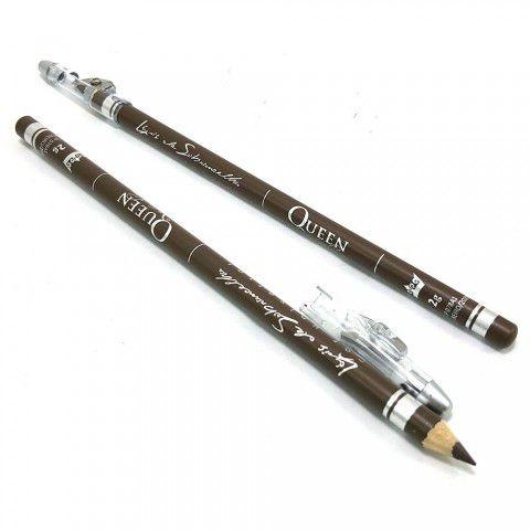 Lápis de Sobrancelhas Cor Universal c/ Apontador - Queen