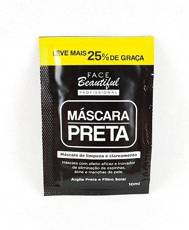Máscara Preta - Face Beautiful
