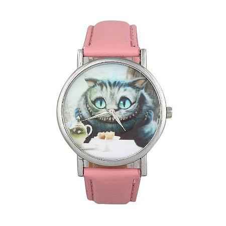 Relógio Gato Risonho