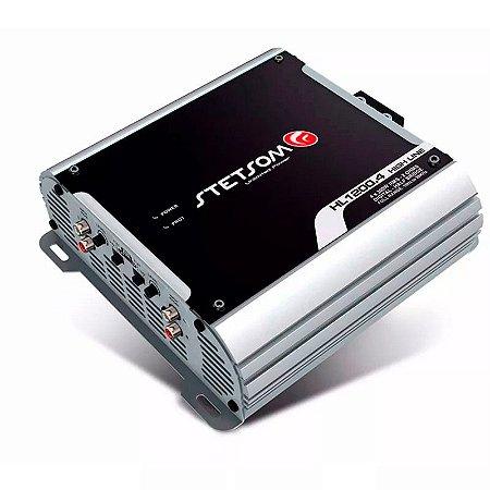 Módulo Amplificador Stetsom Hl1200.4 2 Ohms 1200w 4 Canais