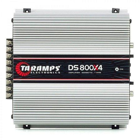 Módulo De Potência Taramps Ds-800x4 800rms 4 Canais 2 Ohms