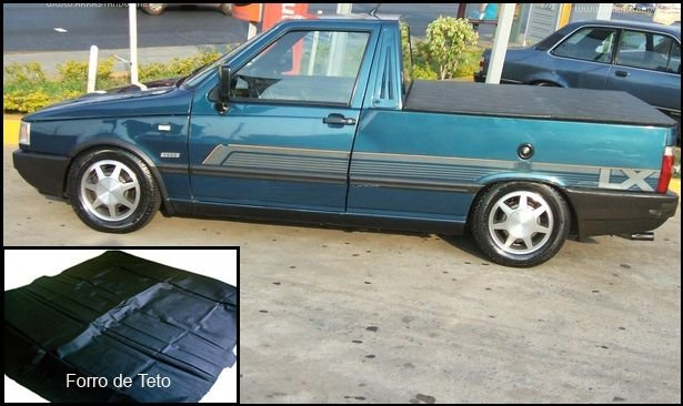 Forro de Teto Fiorino / Pick Up LX