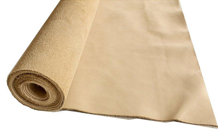 Rolos de Semi-acabado Top Grain - Cor: Areia - 1.2/1.6 mm