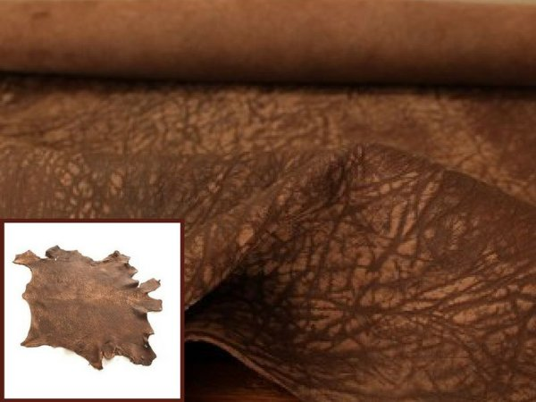 Carneiro Crispado - Cor: Tabaco Antique