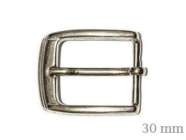 Fivela Frisada - Niquelada/Ouro Velho - 30/33 mm