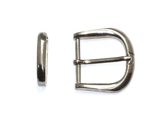Fivela Tradicional Premium - com Passador - Niquelada/Ouro Velho/Grafite - 35mm