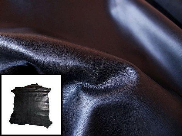 Pelica de Cabra - Cor: Preta - 0.6/0.8 mm