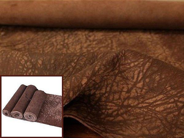 Rolos de Carneiro Crispado - Cor: Tabaco Antique