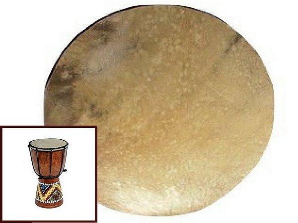 Disco de Lonca de Boi - Couro para Tambores, Atabaques, Bongôs. 35cm / 45cm/ 55cm