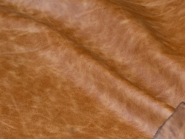 Couro Linha Brut - Cor: Conhaque Desert - 1.0/1.4 mm