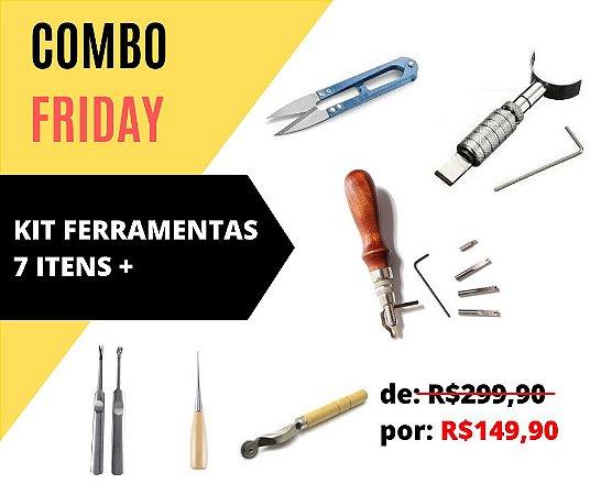 Combo Friday!! Kit Ferramentas 7 itens