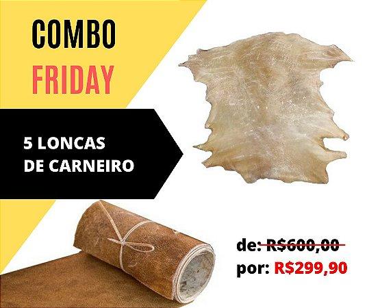 Combo Friday!! 5 Loncas de Carneiro - Peças Inteiras