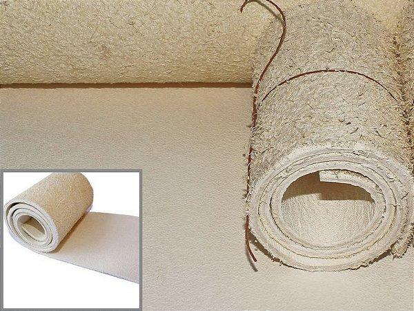Rolos de Meio-curtume de Búfalo - Soleta Branca - 3.0 mm