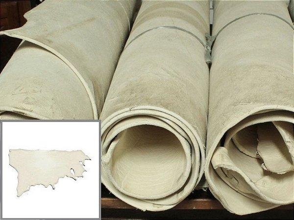 Meio Curtume de Búfalo para Rédeas - Cor: Natural - 4.0/6.0 mm