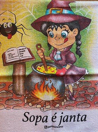 Sopa é janta - ÚLTIMA UNIDADE - Bruxinha