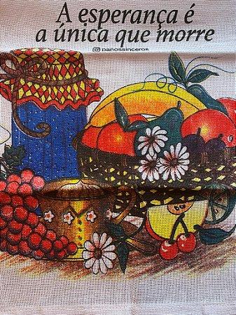 A esperança é a única que morre - ÚLTIMAS UNIDADES - Frutas
