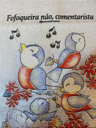 Fofoqueira - SALDÃO - Frase borrada