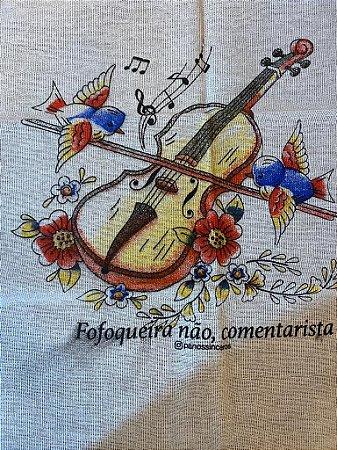 Fofoqueira - SALDÃO - Frase borrada - Violino