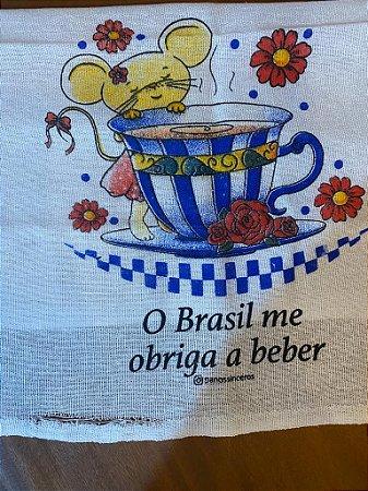 O Brasil me obriga - SALDÃO - Barra desfiada - Ratinha