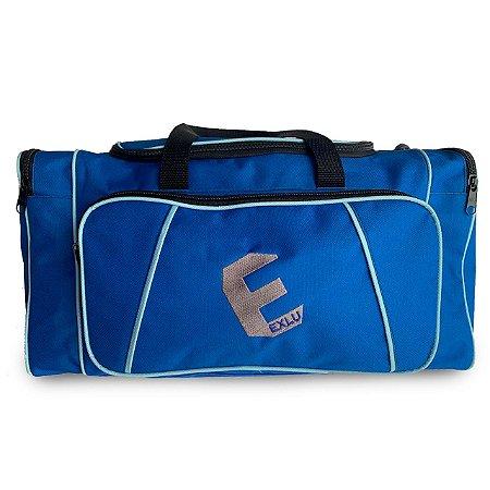 Mala em nylon azul EX1043