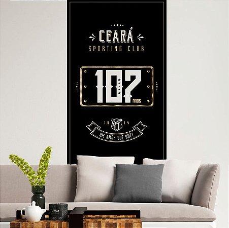 Papel de Parede Adesivo Inteligente Ceará 107 anos