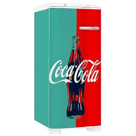 Adesivo Envelopamento Geladeira Coca-Cola