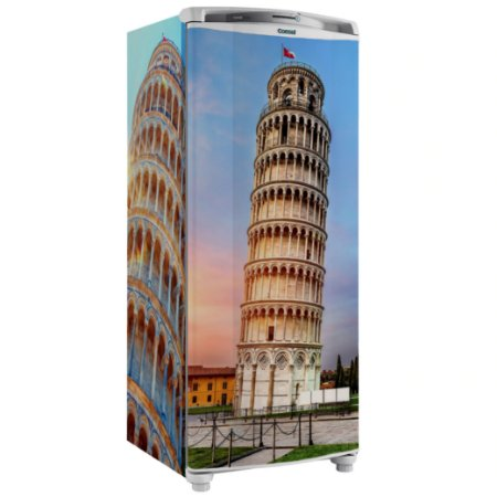 Adesivo Envelopamento Geladeira Torre Ibiza