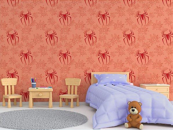 Papel de Parede Adesivo - Homem Aranha Baby Herói