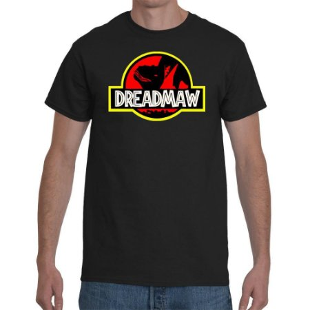 Camisa Silk Dreadmaw preta