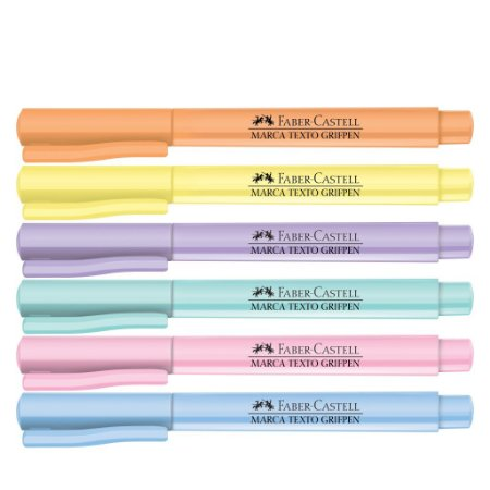 Marca Texto Grifpen Tom Pastel Faber Castell