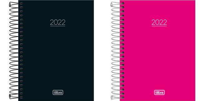 Agenda Diária Espiral Pepper M4 2022 Tilibra