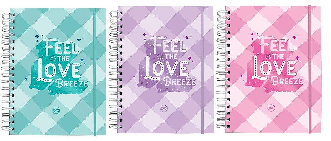 Caderno Smart Breeze Colegial Reposicionável 10 Matérias Dac