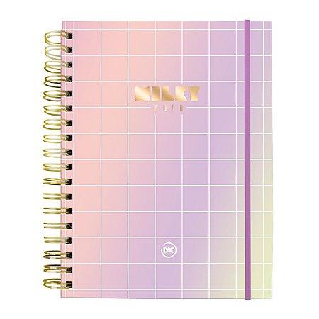 Caderno Smart Milky Universitário A4 Reposicionável 10 Matérias Dac