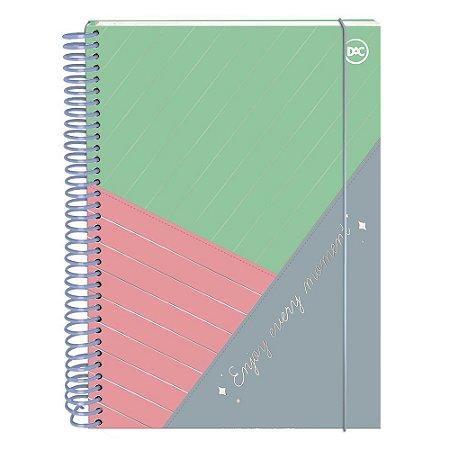 Caderno Colegial Enjoy 10 Matérias 160 Folhas Dac