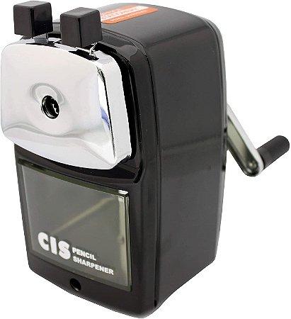 Apontador De Mesa Mecânico Com Manivela PR-03 Cis