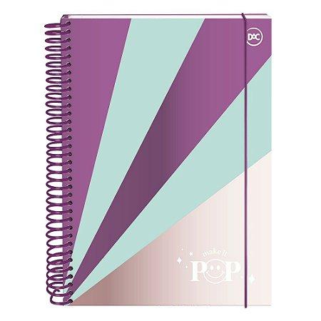 Caderno Colegial Pop 10 Matérias 160 Folhas Dac