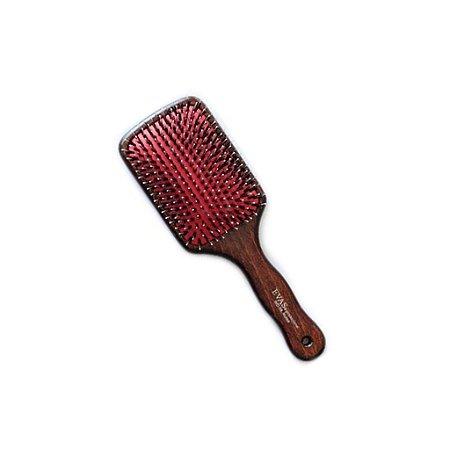 Escova de Cabelo Evas Raquete WD-39 Cerdas Naturais e Nylon